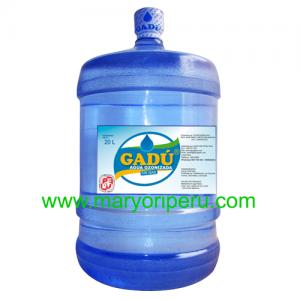 Agua de mesa Gadu 20 litros retornable