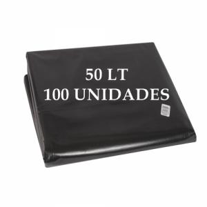 Bolsa de Basura 50 lt. X 100 u.