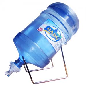 Soporte +  Valvula + Envase + Agua de mesa Ozonizada Gadu 20 litros