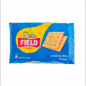 Galleta Soda Field x 6 pqt