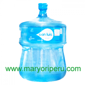Envase + Agua San Luis 20 litros