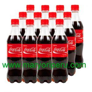 Coca Cola 500 ml x 12 botellas