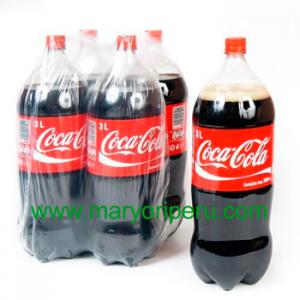 Coca Cola 3 litros x 4 botellas