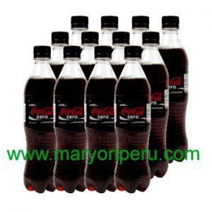 Coca Cola Zero 500 ml x 12 botellas