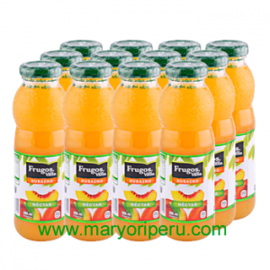 Frugos Durazno 296 ml x 12 botellas