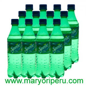 Sprite 400 ml x 12 botellas