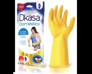 Guante Dkasa Domestico talla S, M y L 1 u.