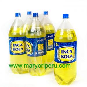 Inca Kola 3 litros x 4 botellas