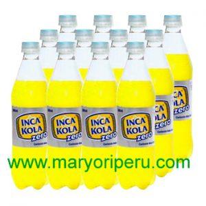 Inca Kola Zero 500 ml x 12 botellas