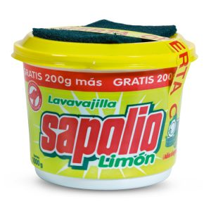 Lavavajilla Sapolio 900 gr Crema
