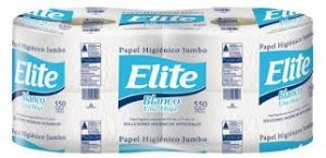 Papel Higienico Elite Jumbo 550 mts x 4 rollos