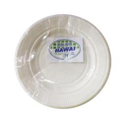 Platos plástico N°-15 X 25 un.