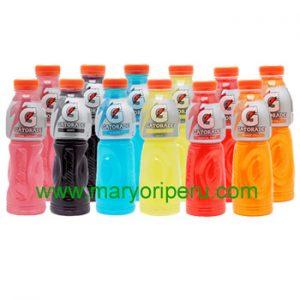 Gatorade varios sabores 500 ml x 12 botellas