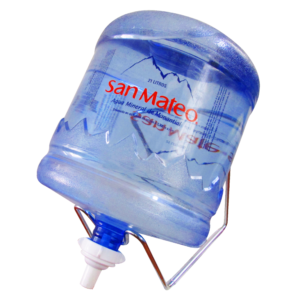 Soporte + Válvula + Envase + agua mineral San Mateo 21 litros