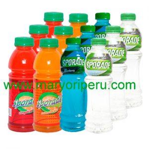 Sporade varios sabores 475 ml x 12 botellas
