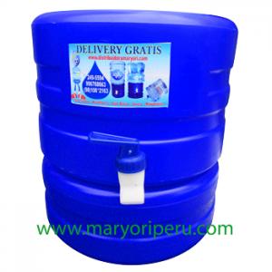 Surtidor Maryori azul estandar para bidon de agua