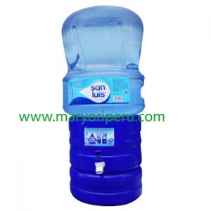 Surtidor + Envase  + agua de mesa San Luis 20 litros