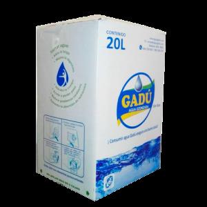 Caja de agua de mesa Gadu 20 lt