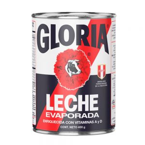 Gloria Leche Evaporada Azul 400gr