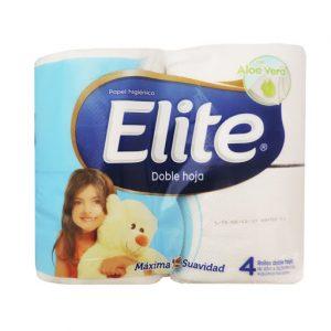 Papel Higienico Elite Doble Hoja 4 unid.