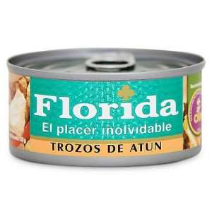 Florida Trozos de Atun X 140 gr.