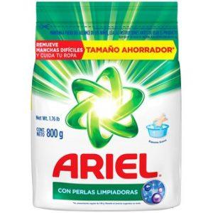 Ariel oxi poder 800gr