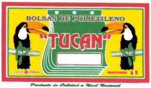 Bolsa de polietileno tucan 16×19 x 80 und