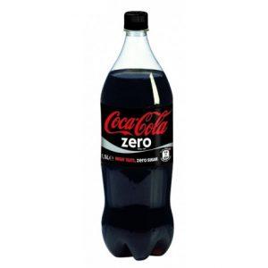 Coca cola zero 1.5lts x und