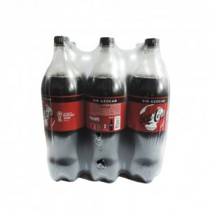 Coca cola zero 1.5 lts x 6 und
