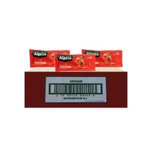 ketchup alpesa sobre x 8 gr x 240 und