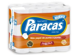 Papel higiénico paracas doble hoja x 24 und