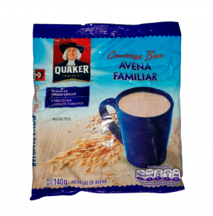 Avena quaker avena familiar x 140 gr