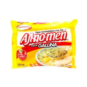 Ajinomen sopa gallina x 80 gr