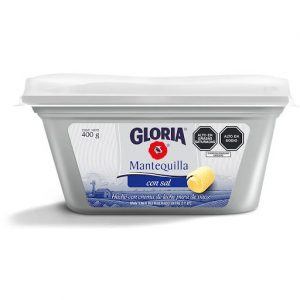 Gloria mantequilla pote x 400 gr