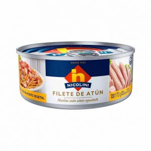 Nicolini filete de atun x 170 gr