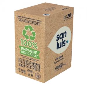 Cajas de agua San Luis 20 litros ecológico